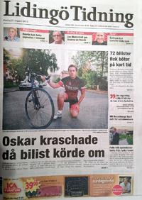 Lidingö tidning om cykel