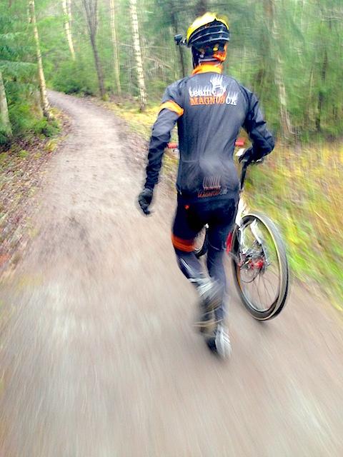 cykellöpning